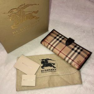 {Burberry} Haymarket Continental Wallet